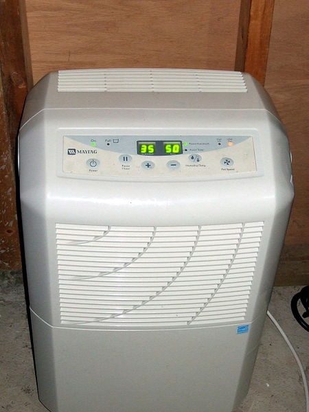 dehumidifier unit installation method statement