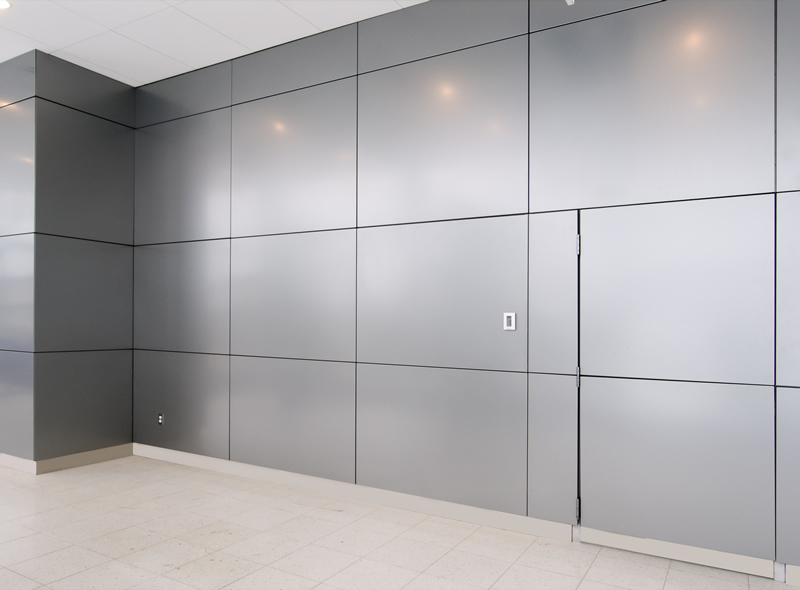 Wall Panels Fabrication and Installation