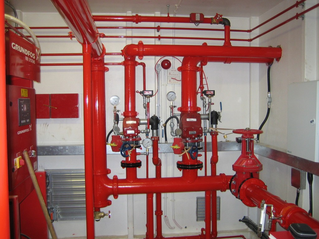 Fire Fighting Sprinkler System method statement for Testing & Commissioning