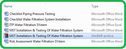 MST Installation & Testing Of Water Filtration System