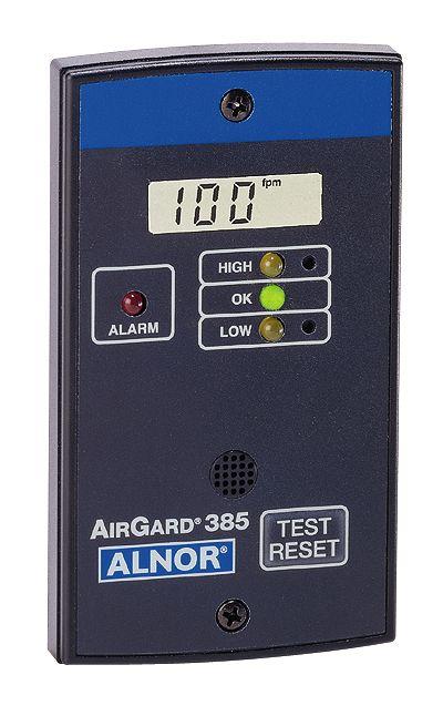Laboratory air monitoring for fumes hood