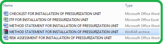 Download Method Statement for Installation Of Chilled Water Pressurization Unit & Expansion Tank